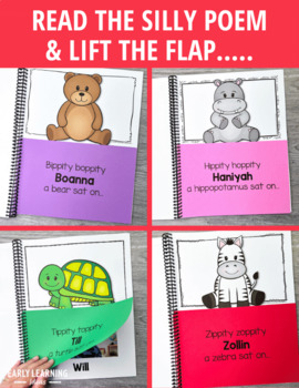 Rhyming Name Book: 4 Versions of a Lift-the Flap Name Book