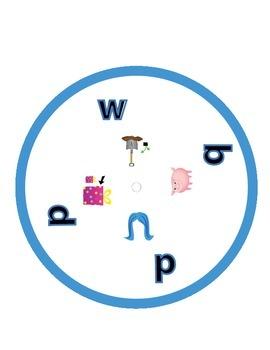 Lift the Flap Word Wheel -Short i
