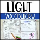 Light Fun Interactive Vocabulary Dice Activity EDITABLE