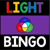 Light Energy Activity - Review Bingo