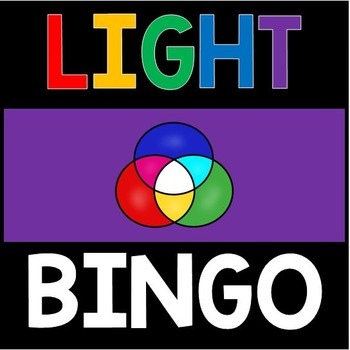 Light Energy Review Bingo