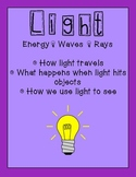 Light 85p Unit Plan:How it Reflects, Absorbs, Transmits, T