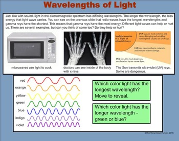 Light - A Fourth Grade SMARTBoard Introduction
