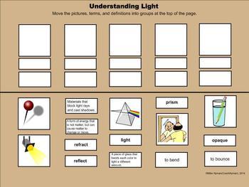 Light - A Third Grade SmartBoard Introduction