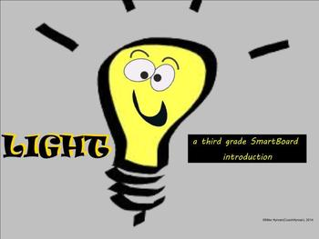 Light - A Third Grade SmartBoard Introduction