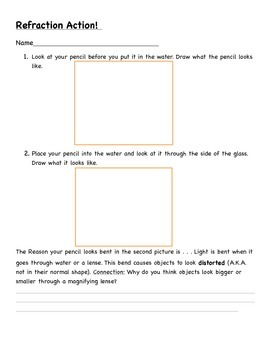 Light Activity Pack and Instructions