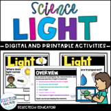 Distance Learning  |  Light  |  Presentation and Activities