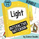 Science Doodle - Light Energy Interactive Notebook BUNDLE