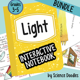 Science Doodle - Light Energy Interactive Notebook BUNDLE
