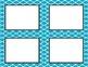 Light Blue Tile Classroom Labels