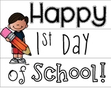 Light Box-1st Day of School