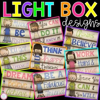 Light Box Designs