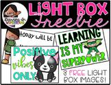 Light Box Designs {FREEBIE}