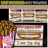 EDITABLE Light Box Designs: Fry's First 100 Sight Words {D