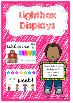 Light Box Displays