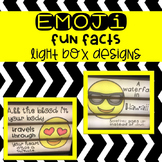 Light Box Emoji Fun Facts Pack