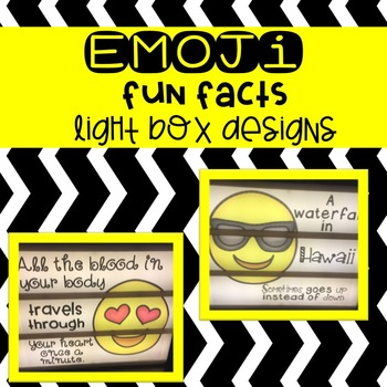 Light Box Emoji Fun Facts Pack