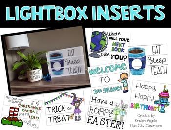 Light Box Inserts