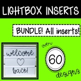 Lightbox Inserts Fun Bundle Pack