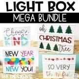 Light Box Inserts Mega Bundle - Heidi Swapp or Leisure Arts