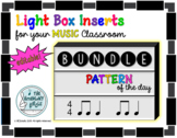 Light Box Inserts - Pattern of the Day BUNDLE