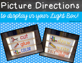 Light Box Slides - Picture Directions