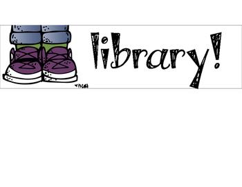 Light Box Slides for the Library (Library Skills)