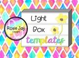 Light Box Templates - Growing Pack