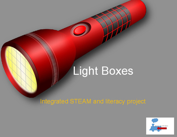 Light Boxes: A STEAM project integrated with Literacy and aligned to NGSS