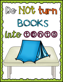 Light & Brights: Book Care Posters