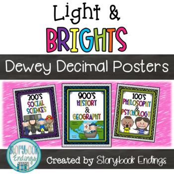 Light & Brights: Dewey Decimal Posters