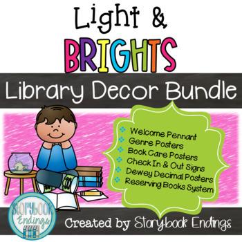 Light & Brights Library Decor Bundle