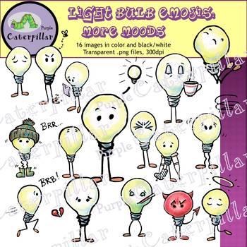 Light Bulb Clip Art 2