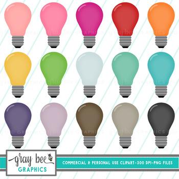 Light Bulb Clip Art Pack