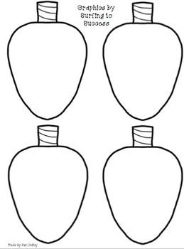 Light Bulb Craftivity or Banner