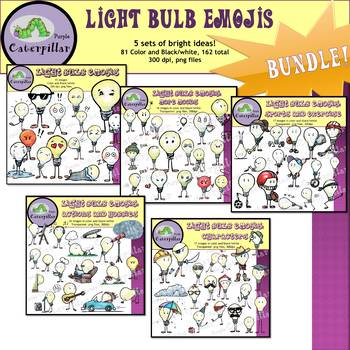 Light Bulb Emoji Growing Bundle