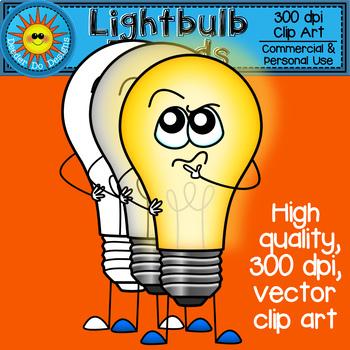 Light Bulb Friends Clip Art