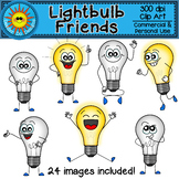 Light Bulb Friends Clip Art
