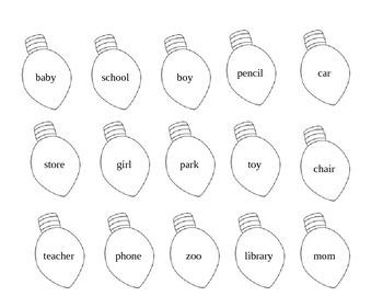 Light Bulb Nouns
