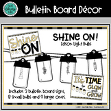 Light Bulbs | Shine On Bulletin Board
