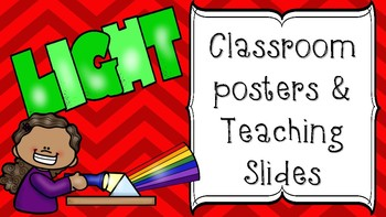 Light Classroom Posters or Teaching Slides