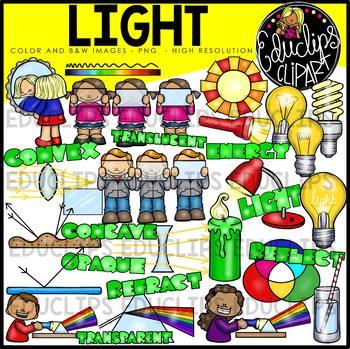 Light Clip Art Bundle {Educlips Clipart}