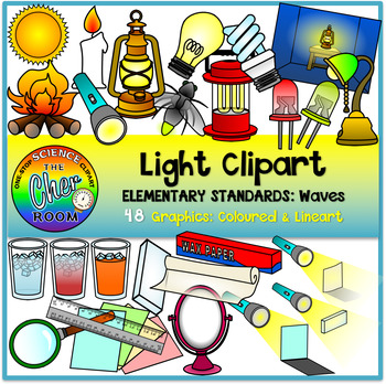 Light Clipart (Elementary Standard: Waves)