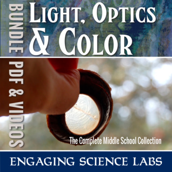 Light and Color and Optics: A Complete Unit Bundle for Middle School