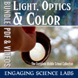 Light and Optics and Color Labs: Lenses and Vision—BUNDLE