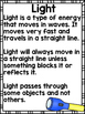 Light {Common Core/NGSS, Experiments, & Worksheets all about Light!}
