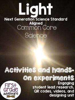 Light {Common Core/NGSS, Experiments, & Worksheets all abo