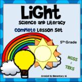 Light Complete Lesson Set Bundle (NGSS & TEKS) 5th Grade