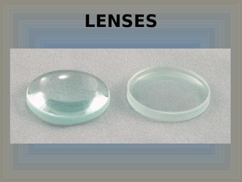 Light: Convex and Concave Lenses PowerPoint