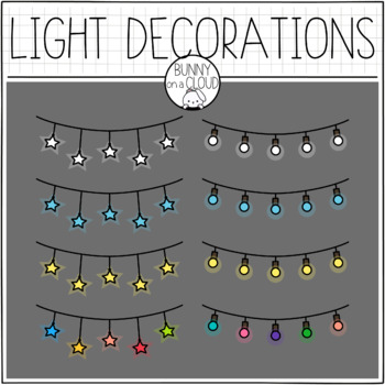 Light Decorations Clipart